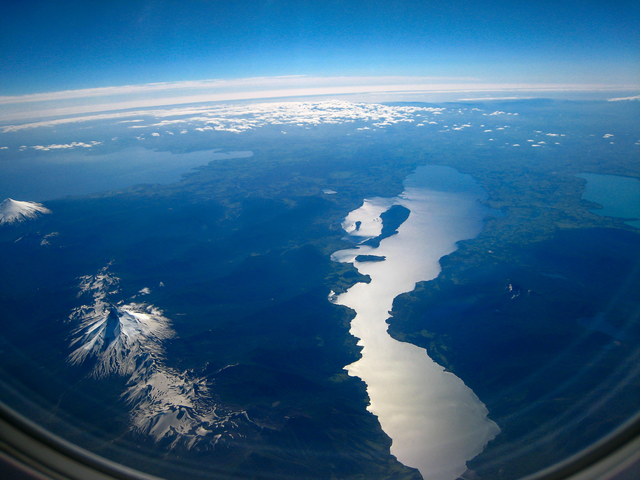 Aerial View Patagonia Chile