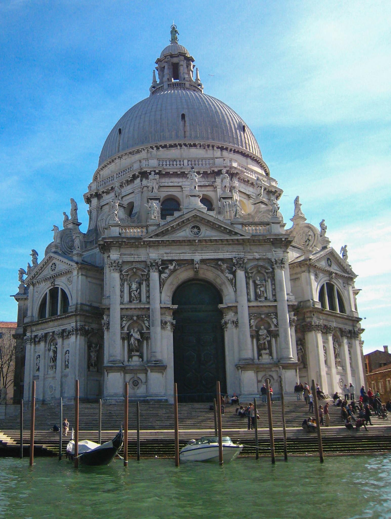 Basilica Di Santa Maria Della Salute Venice Italy