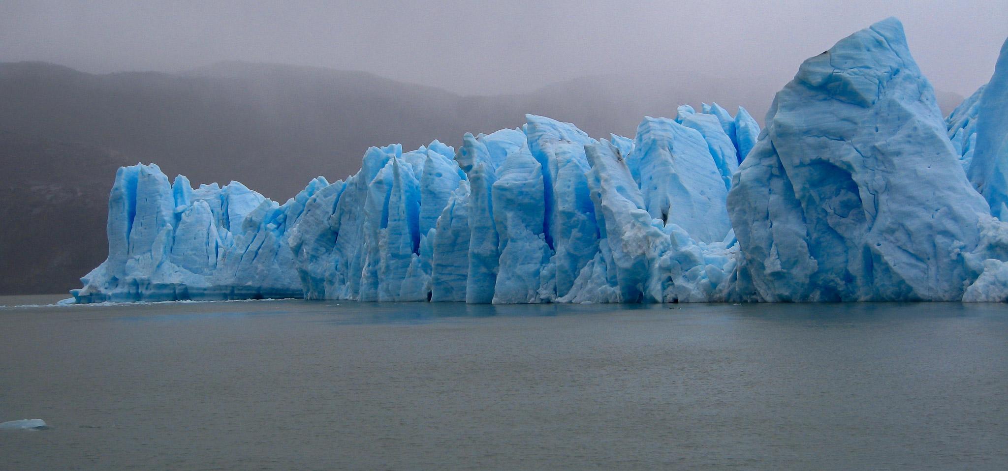 Blue Glacier Patagonia Chile