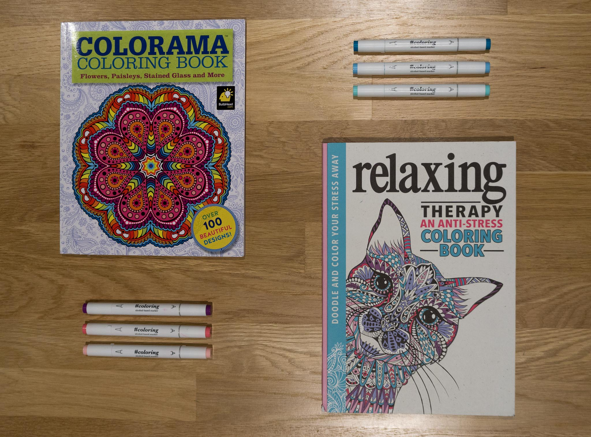 Coloring Book Recharge