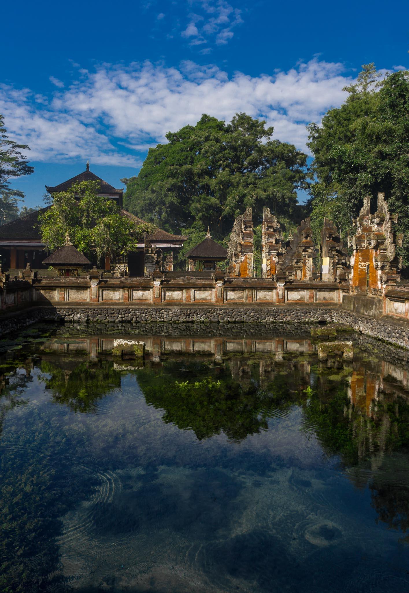 Temple Tirta Empul Holy Spring Bali