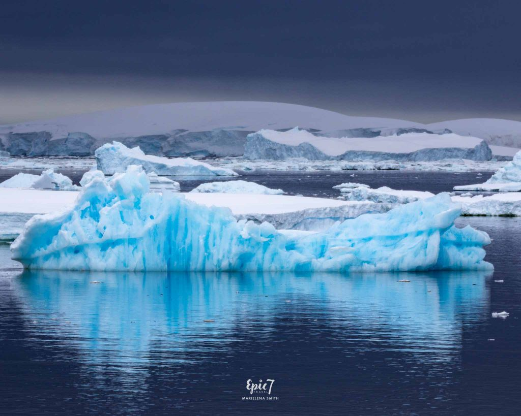 25 Surprising Things to Do In Antarctica - Bergy Bit Reflection