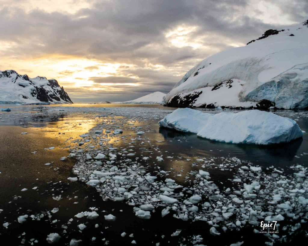 25 Surprising Things to Do Antarctica - Lemaire Channel Sunset