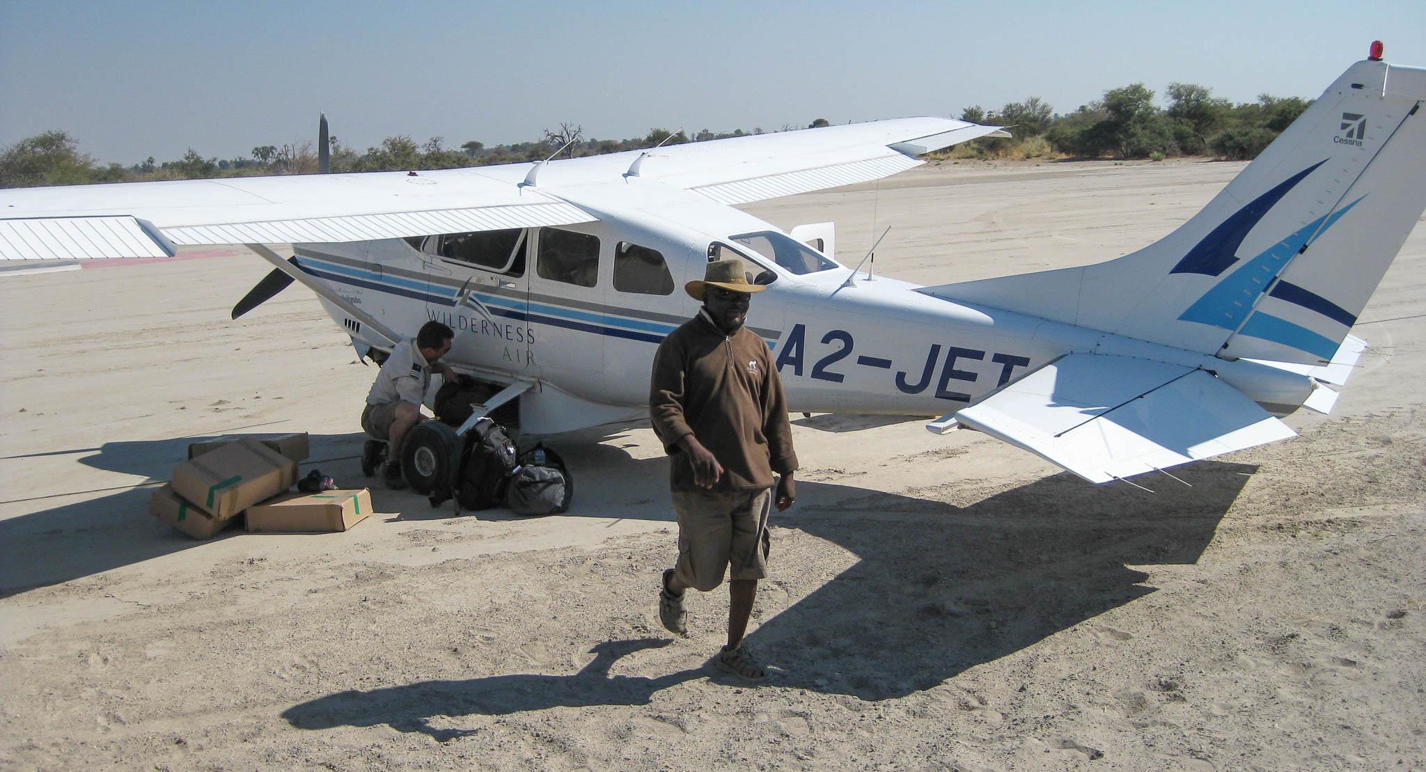 Plane Cessna Botswana Safari