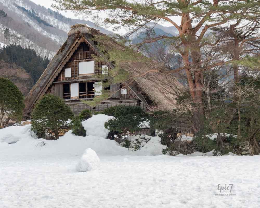 Takayama Attractions Shirakawago thatched roof house