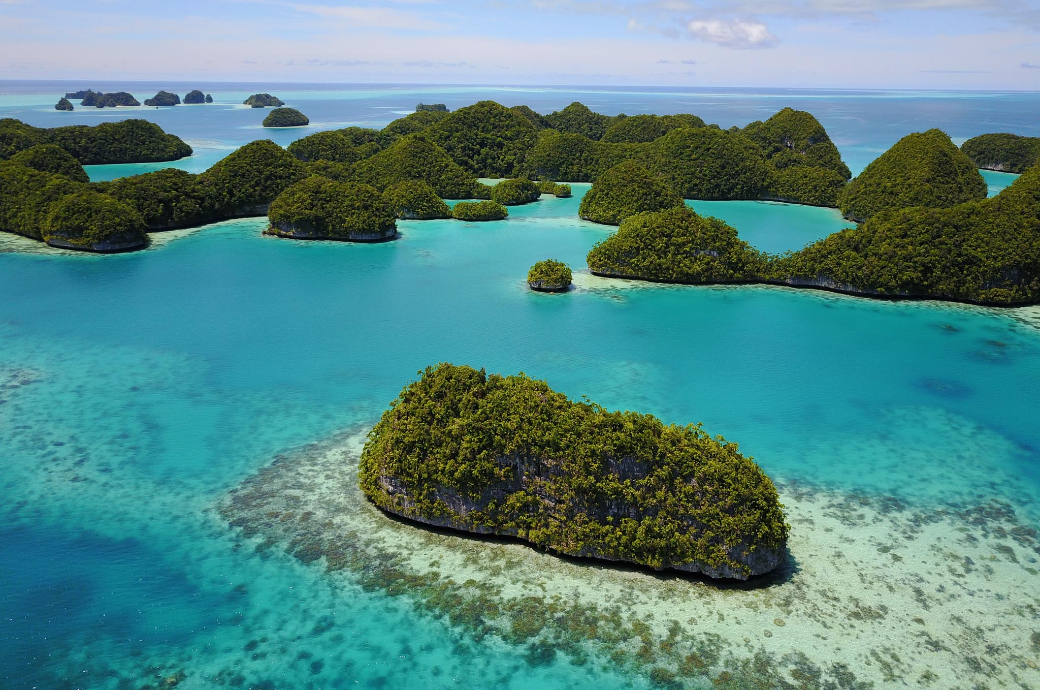 70 Islands Wildlife Preserve Rock Islands Palau