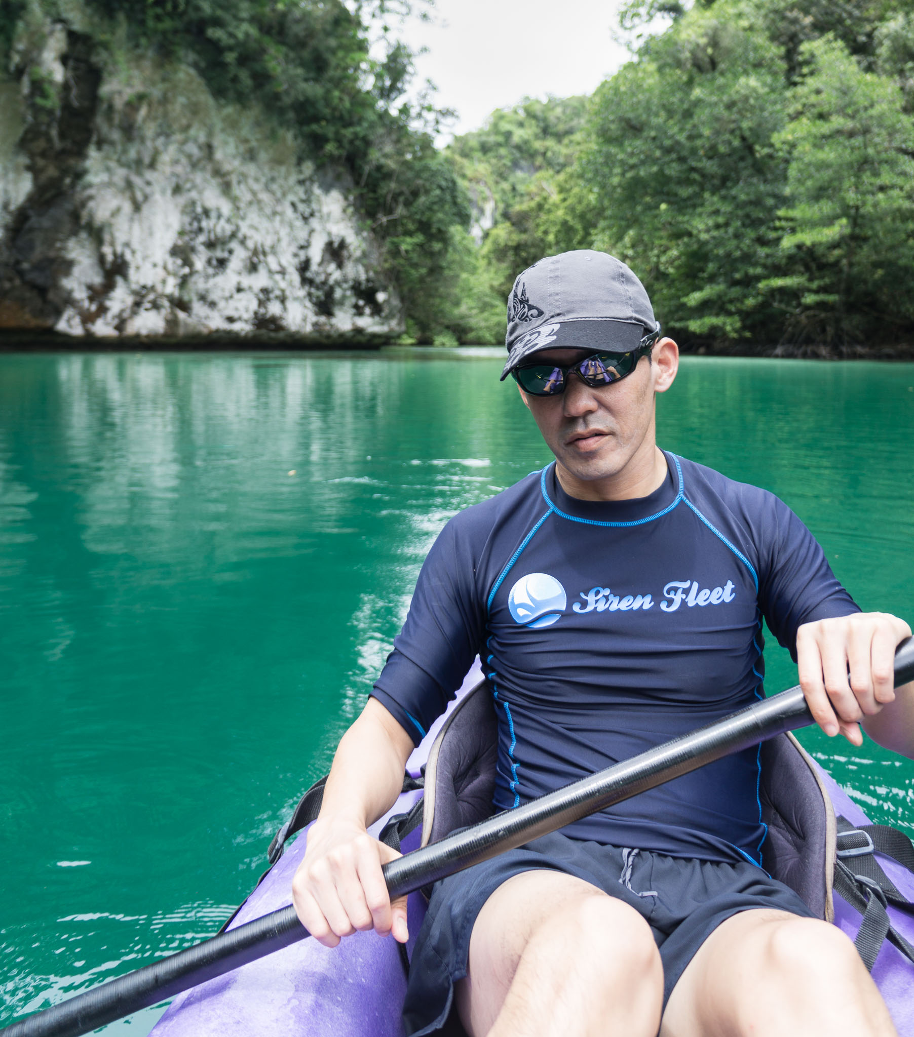 Kayaking Turquoise Lagoons in the Rock Islands Palau