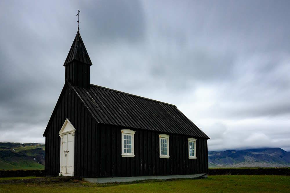 Iceland_Church_Budir_Black_Clouds