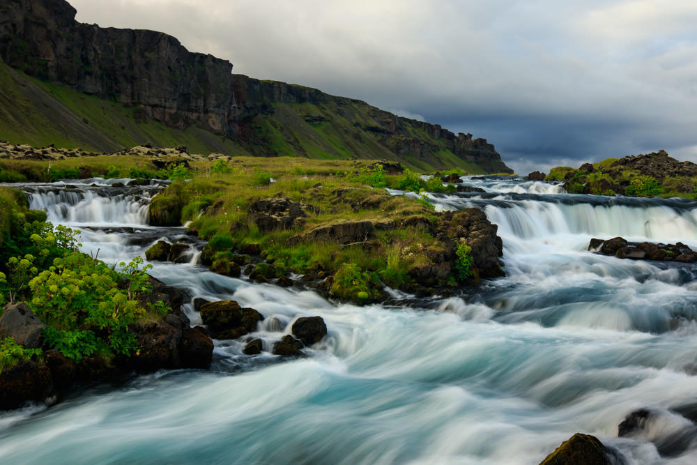 Iceland_Waterfall_Roadside