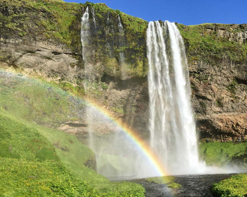 Iceland_Waterfall_Seljandsfoss_Rainbow