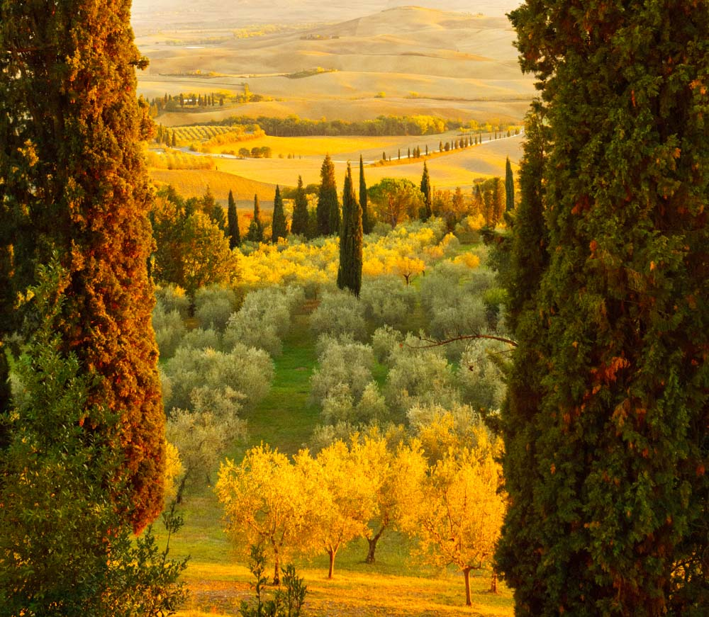 Photography Tips Tuscany Italy Sunset