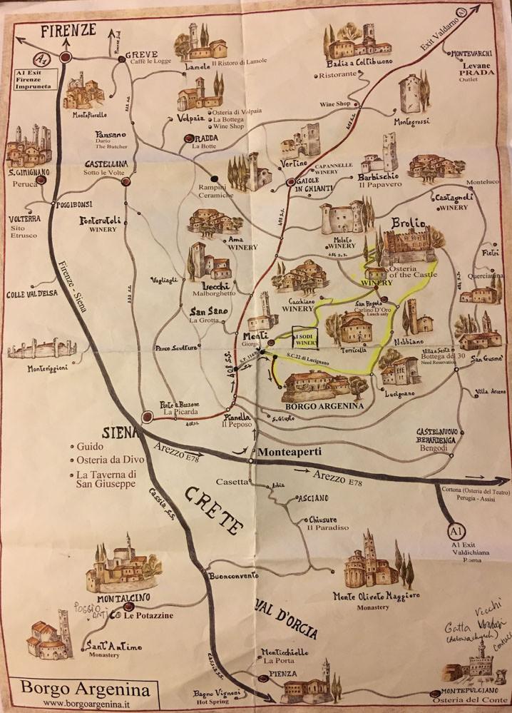 Tuscany_Borgo_Argenina_Map