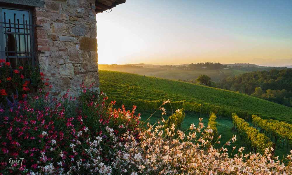 Tuscany_Borgo_Argenina_Sunrise