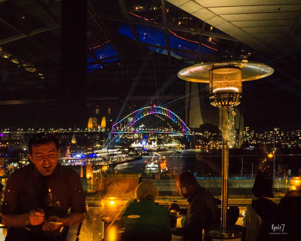 Vivid Sydney Cafe Sydney