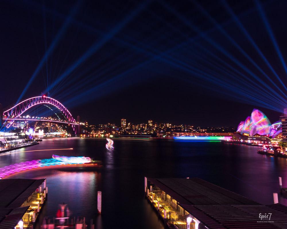 ivid Sydney Cahill Expressway Bridge Opera House Ferry