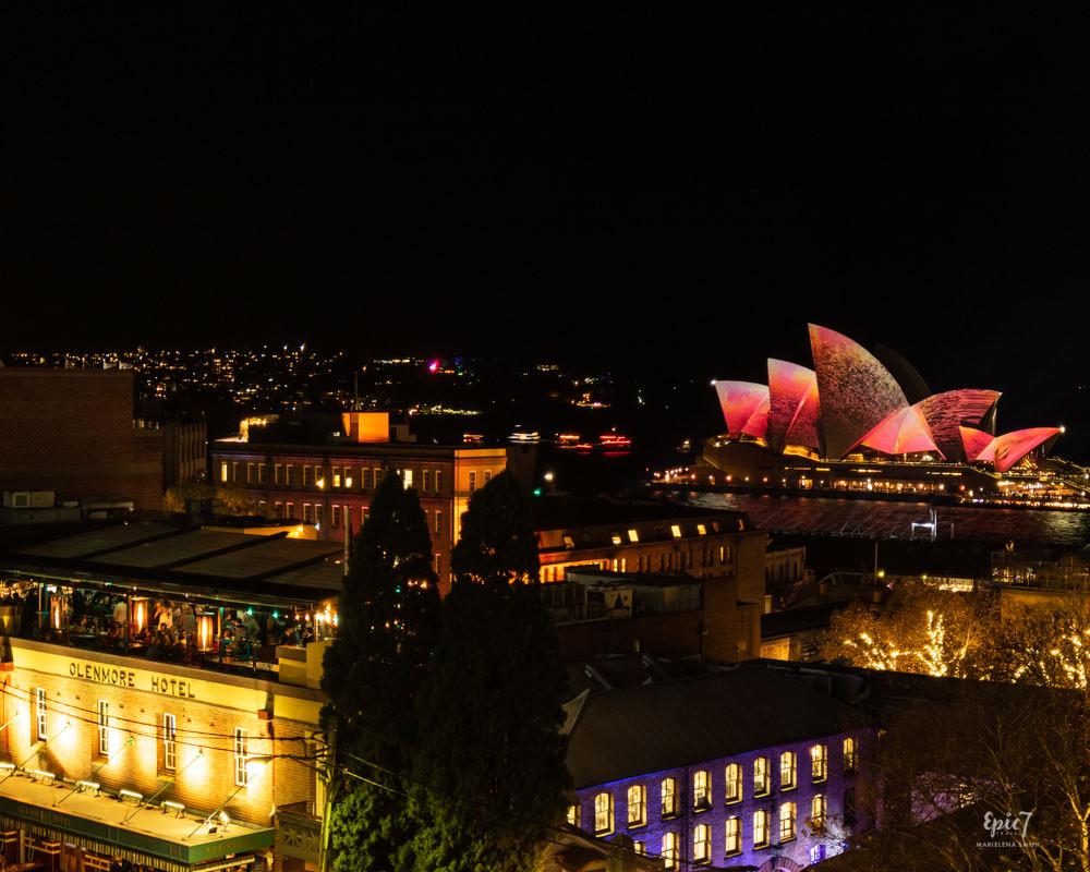 Vivid Sydney Glenmore Hotel