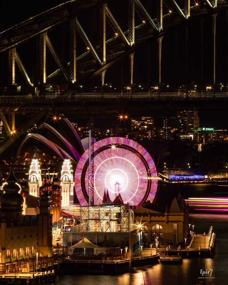 Vivid Sydney Lavender Point