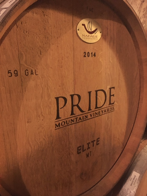 California Wine Country_Pride Mountain Vineyards_Barrel