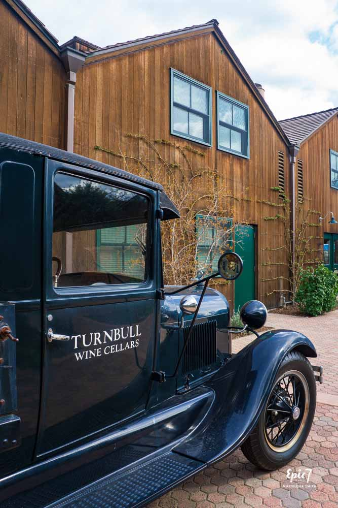 California Wine Country_Turnbull_Antique Car