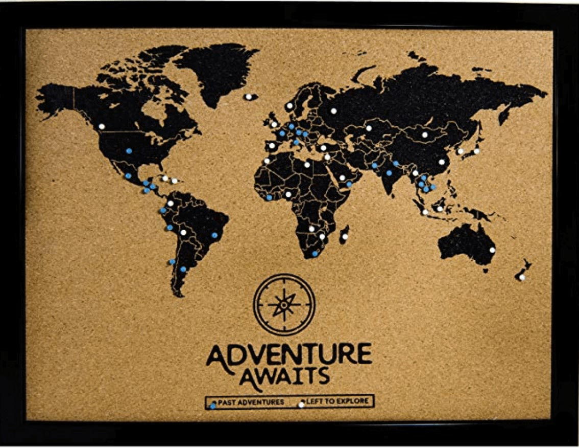 Travel-Gifts_Cork-Board-World-Travel-Map