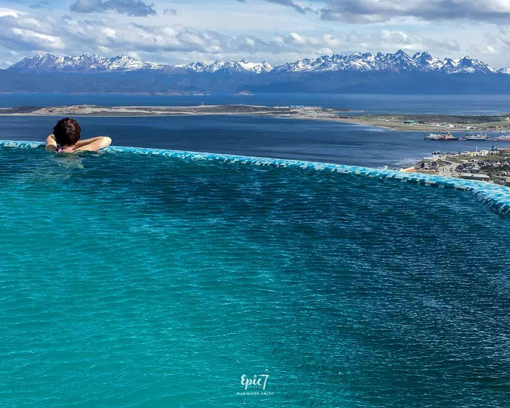Ushuaia Argentina Arakur Hotel Infinity Pool