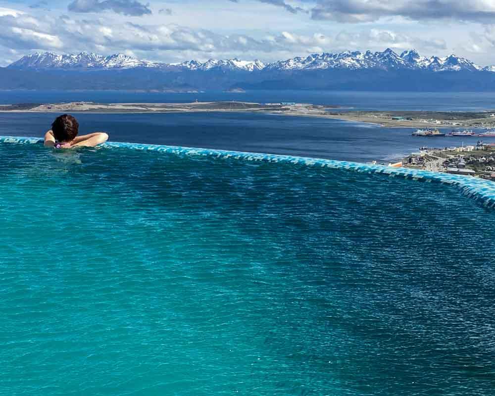 Ushuaia Argentina Arakur Infinity Pool Headline Image