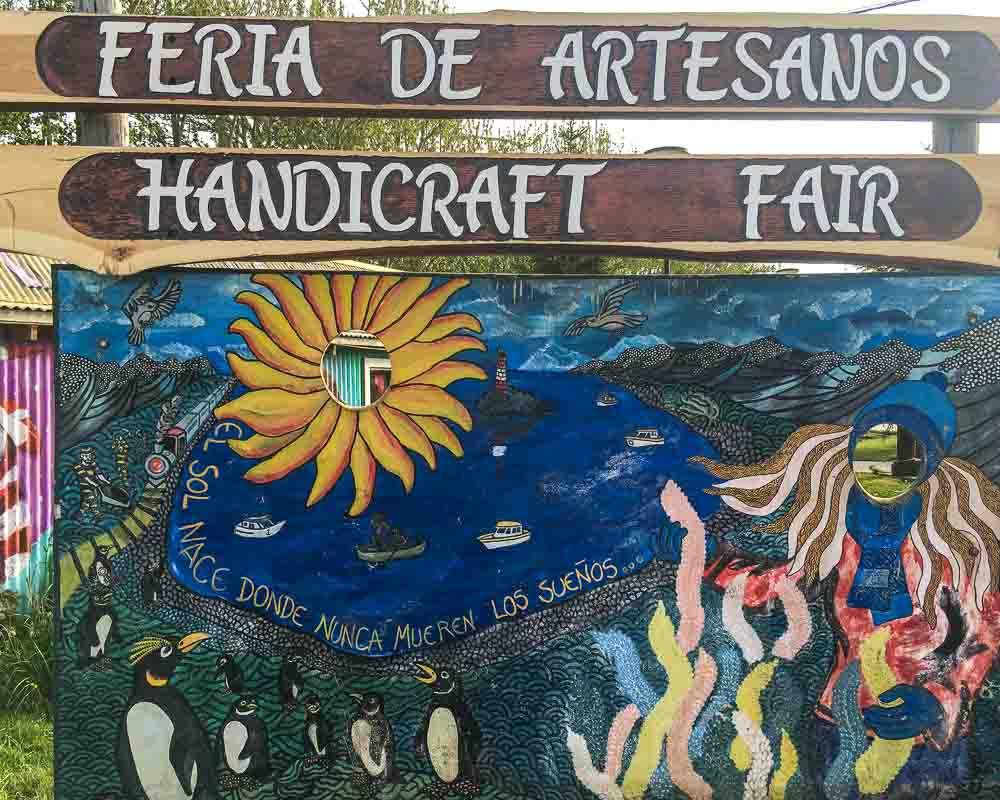 Ushuaia Argentina Feria De Artesanos Handicraft Fair