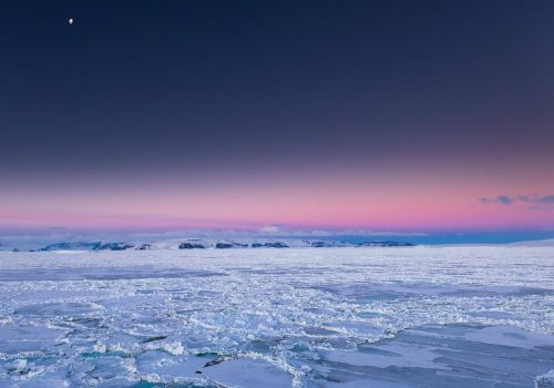 Antarctica Photography Tips_Antarctica Sunset Headline Image