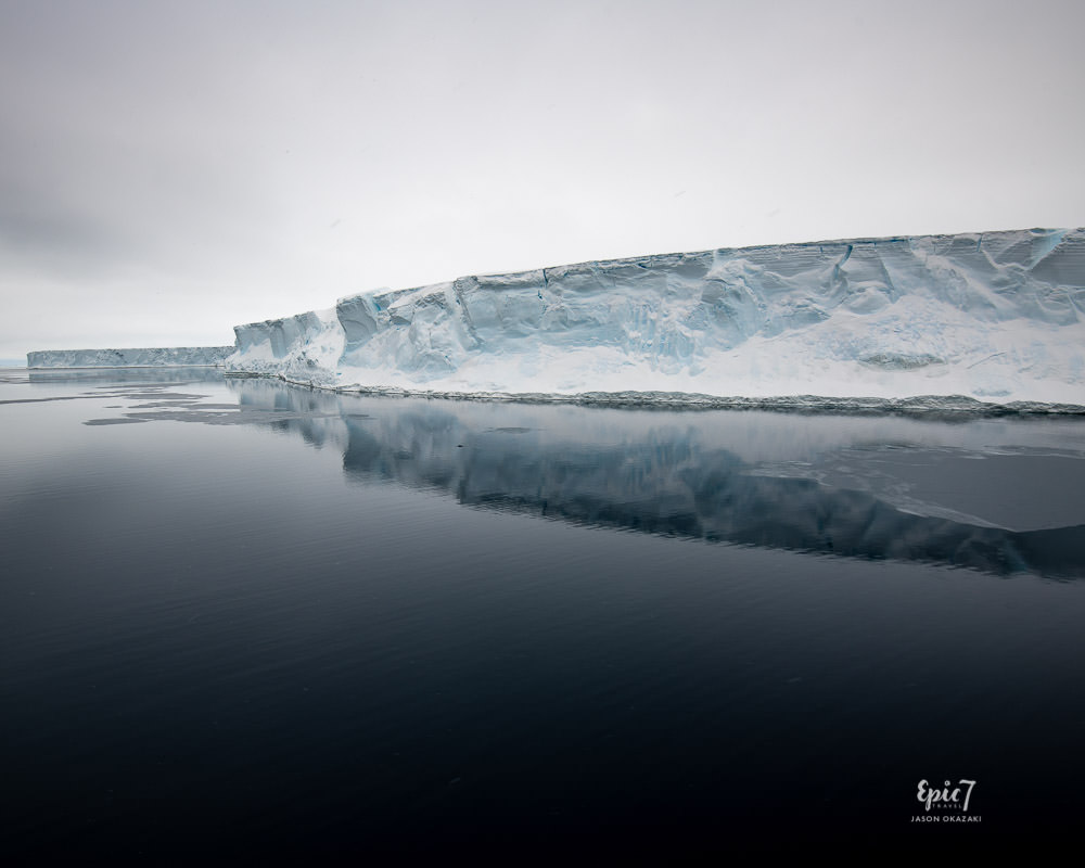 Antarctica Photography Tips_Huge Iceberg Reflection