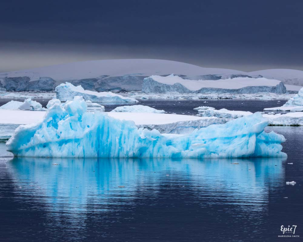 Antarctica Photography Tips_Iceberg Reflection