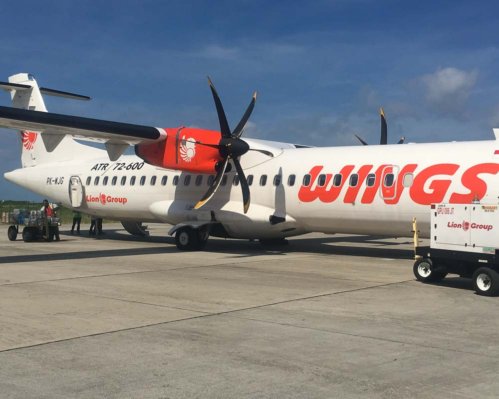 wings airline flight to sorong indonesia
