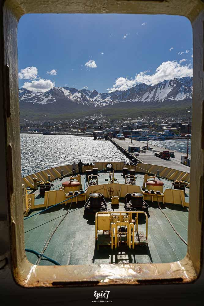 Kapitan Khlebnikov Ushuaia Harbor View