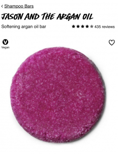 Sustainable Travel Essentials LUSH Shampoo Bar