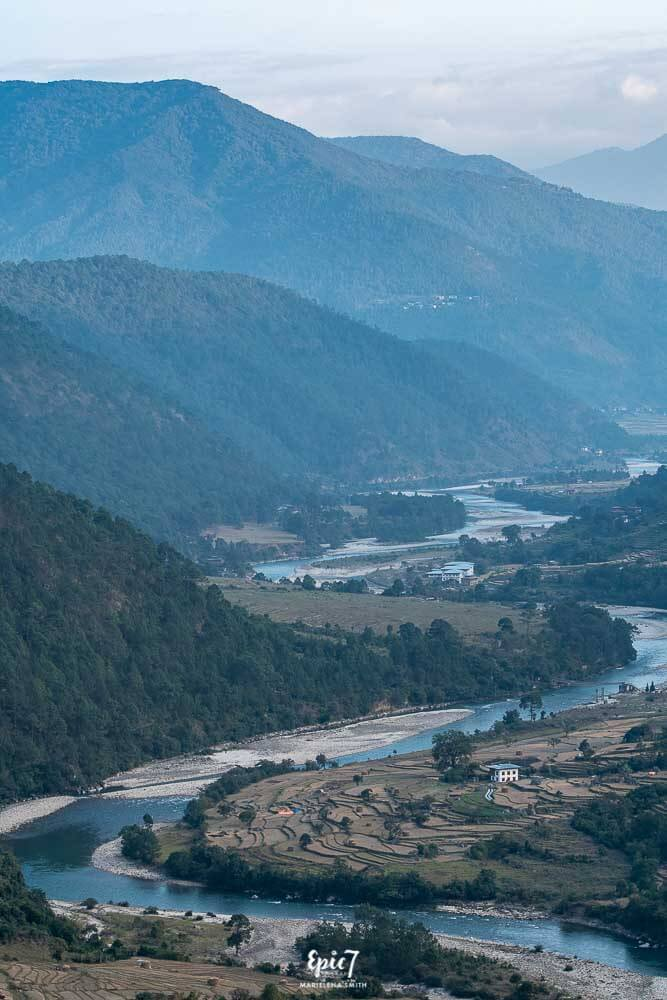 Punakha Valley Bhutan