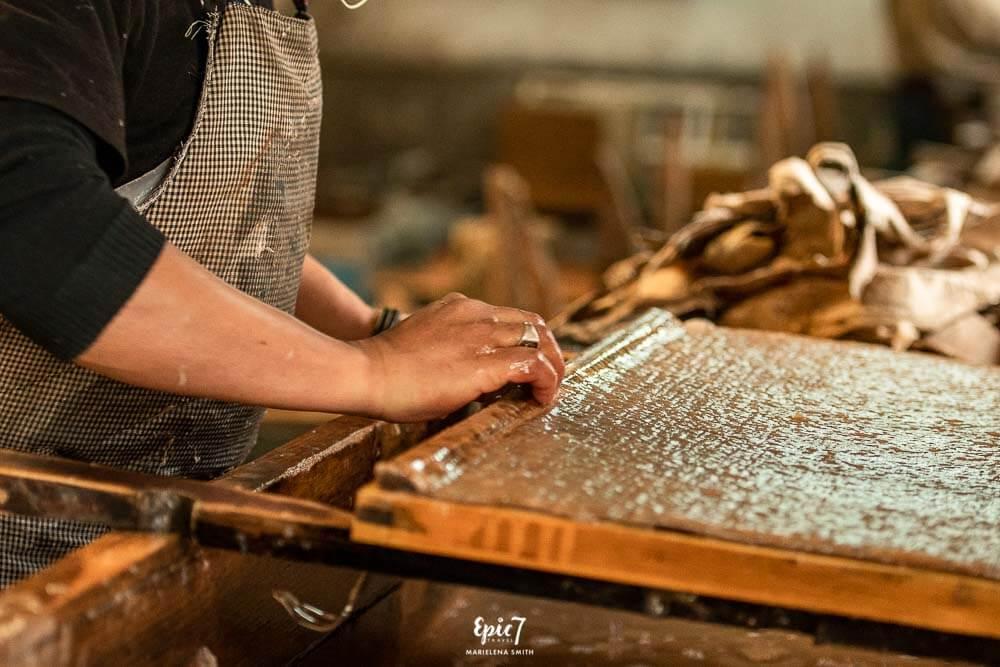 Bhutan Itinerary Highlight Handmade Paper Thimphu Bhutan