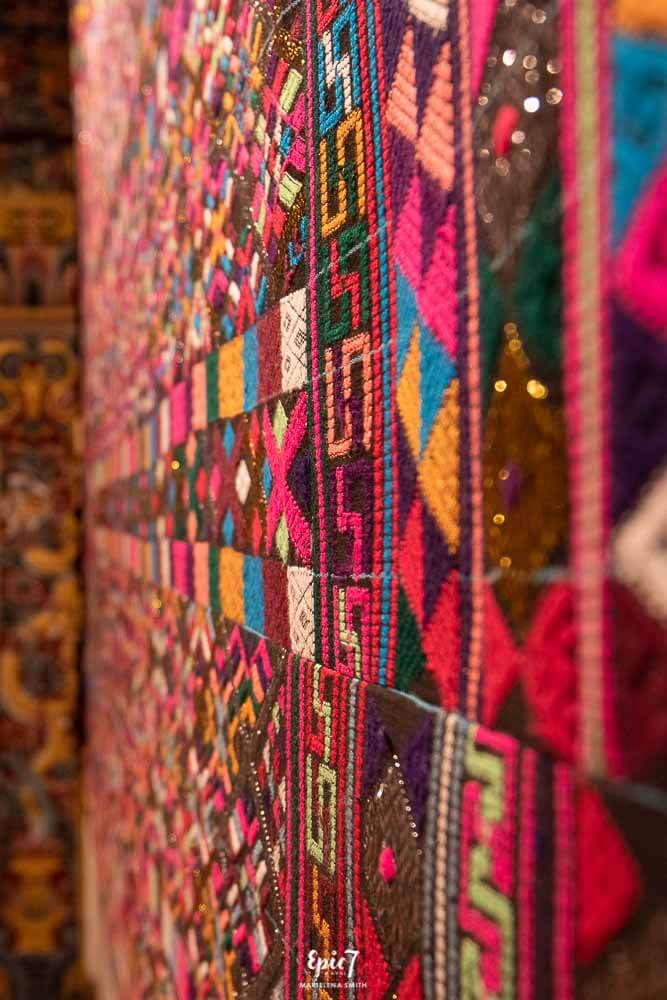 Bhutan itinerary Woven Wall Hanging
