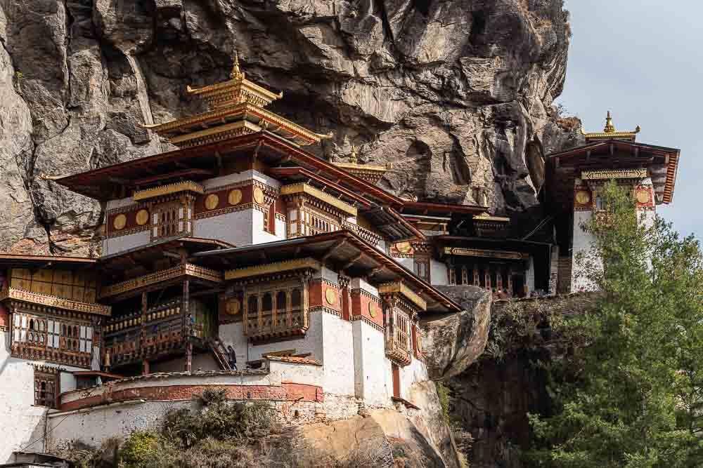 Tigers Nest Monastery Paro Bhutan