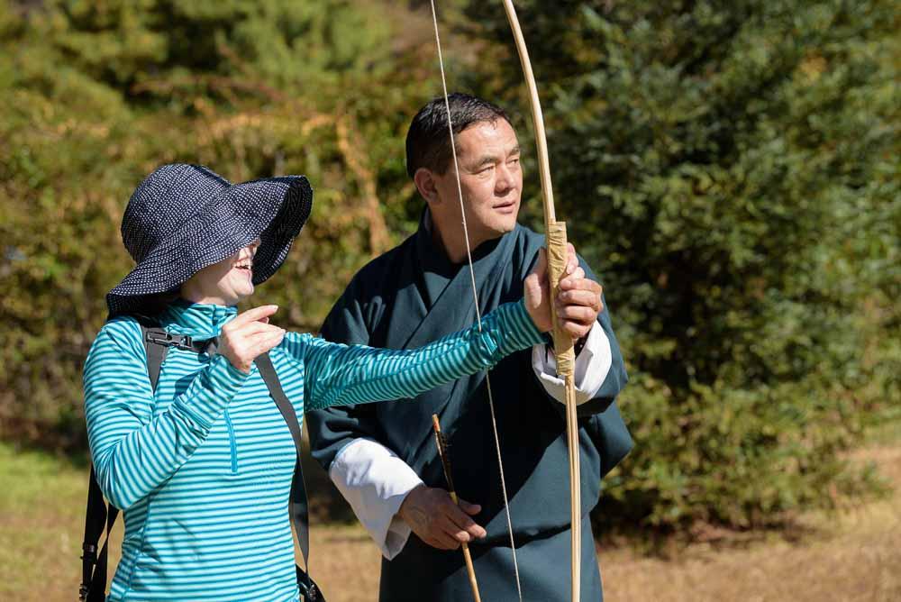 Bhutan Itinerary Archery