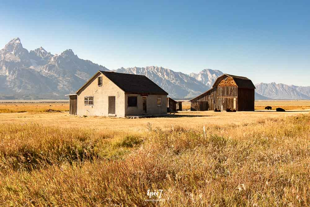 Grand Teton National Park Itinerary Thomas Murphy Homestead