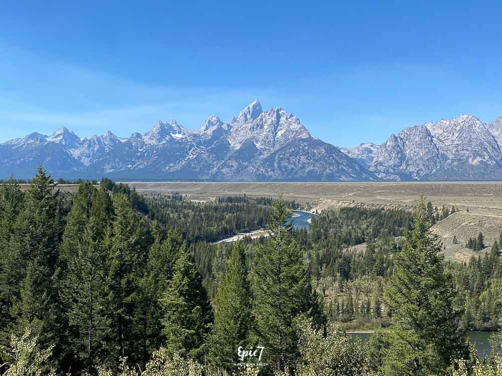 Grand Teton National Park Itinerary Snake River Outlook