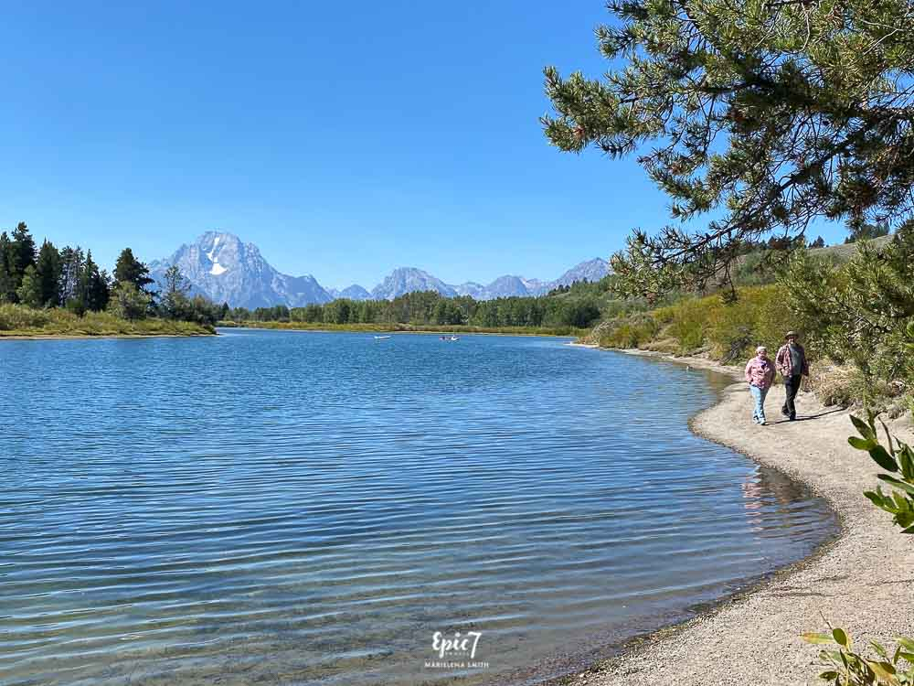 Grand Teton National Park Itinerary Oxbow Bend Turnout Mt Moran