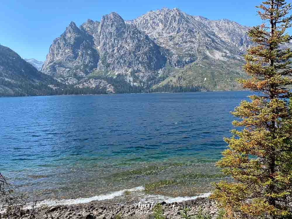 Grand Teton National Park Itinerary Jenny Lake