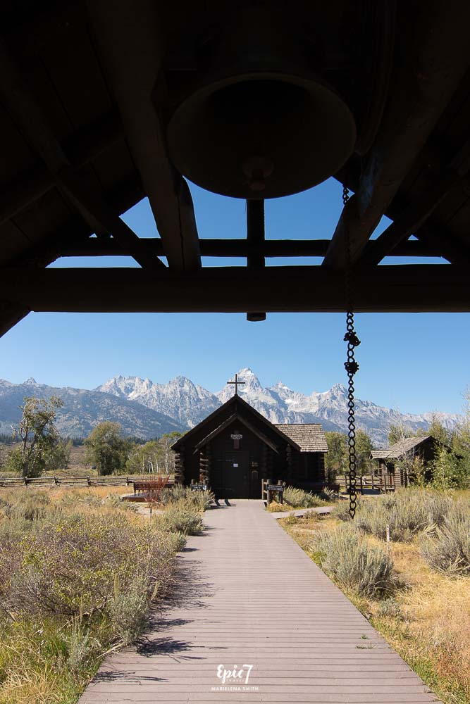 Grand Teton National Park Itinerary Chapel of the Transfiguration