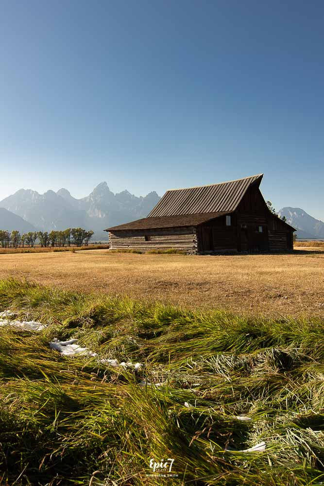 Grand Teton National Park Itinerary T.A. Moulton Barn