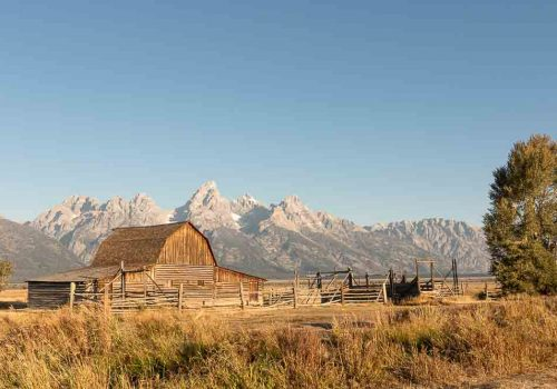 Grand Teton National Park Itinerary Headline Image John and Bertha Moulton Barn