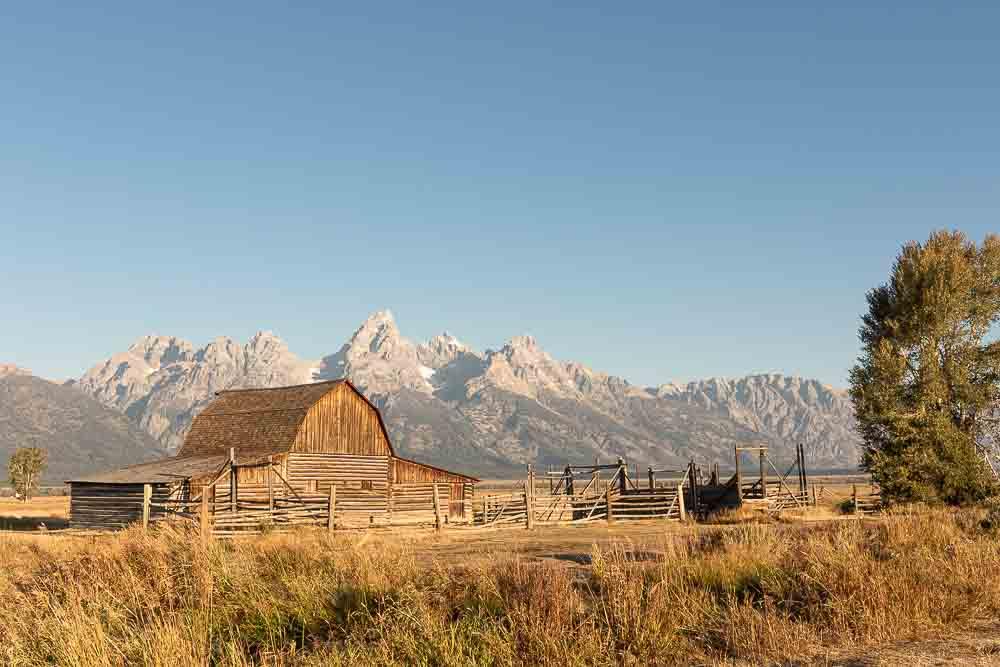 Grand Teton National Park Itinerary Headline Image John and Bertha Moulton Barn