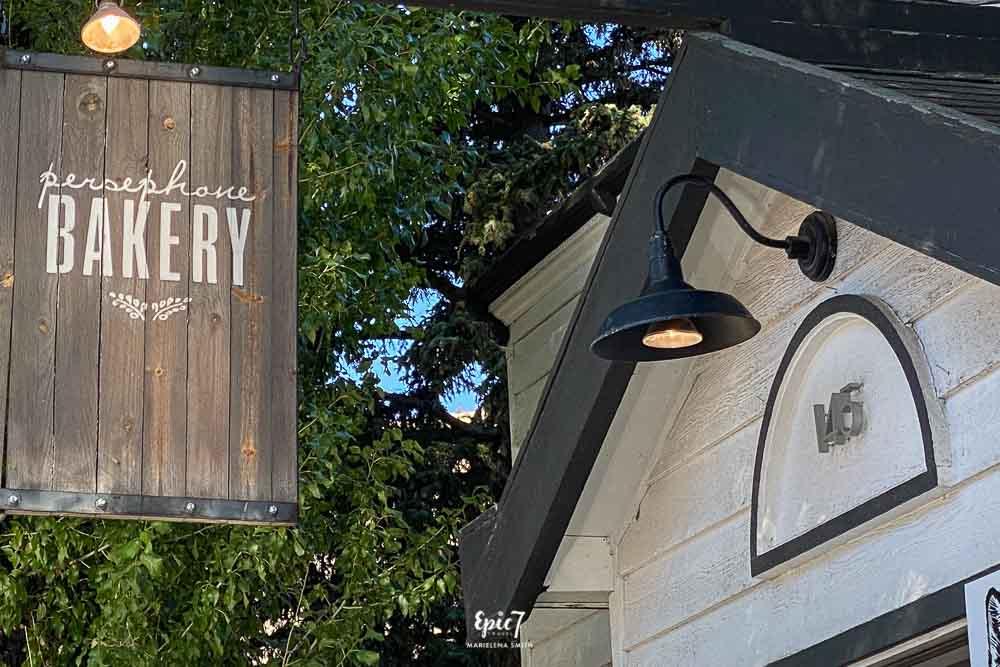 Jackson Hole Travel Guide Persephone Bakery Sign