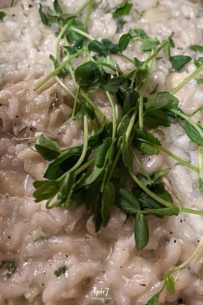 Jackson Hole Travel Guide Trio Asparagus Risotto