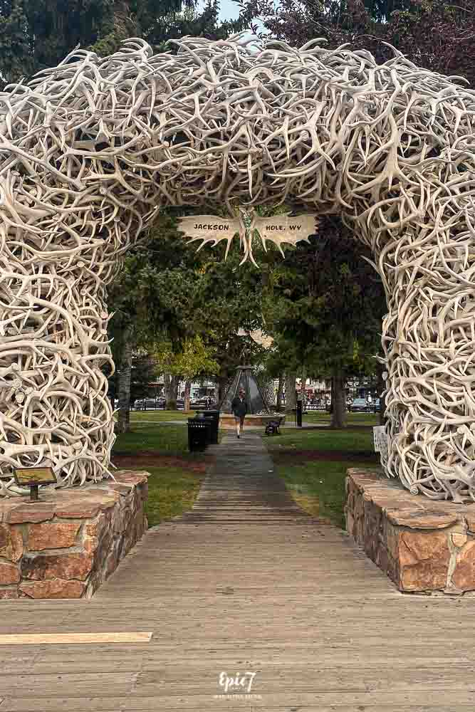 Jackson Hole Travel Guide Jackson Town Square Antlers