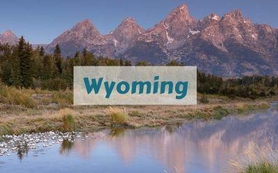 Wyoming Destination Page Schwabacher Landing Reflection